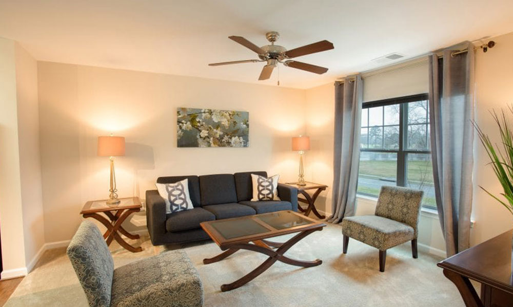 The Arbors at Culpeper Living Room